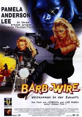 Barb Wire - 11 x 17 Movie Poster - German Style A