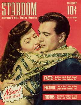 Barbara Stanwyck - 11 x 17 Stardom Magazine Cover 1940's