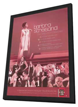 Barbara Streisand - 11 x 17 Movie Poster - Style A - in Deluxe Wood Frame