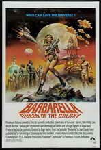 Barbarella - 11 x 17 Movie Poster - Style F