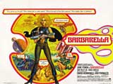 Barbarella - 30 x 40 Movie Poster UK - Style A