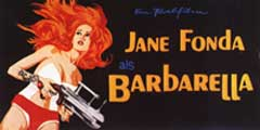 Barbarella - 20 x 40 Movie Poster - German Style A