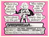 Barbarella - 11 x 17 Movie Poster - Style H