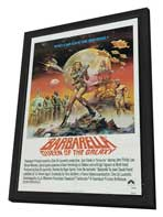 Barbarella - 27 x 40 Movie Poster - Style C - in Deluxe Wood Frame