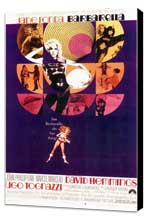 Barbarella - 11 x 17 Movie Poster - Style B - Museum Wrapped Canvas
