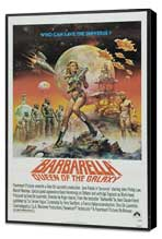 Barbarella - 11 x 17 Movie Poster - Style F - Museum Wrapped Canvas