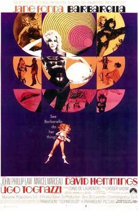 Barbarella - 11 x 17 Movie Poster - Style B