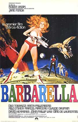 Barbarella - 11 x 17 Movie Poster - French Style A