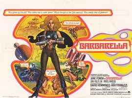 Barbarella - 11 x 17 Movie Poster - Style D