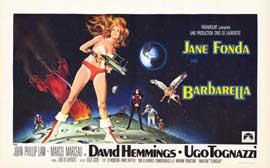 Barbarella - 11 x 17 Movie Poster - Style E