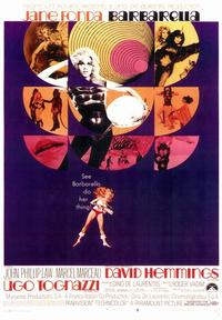 Barbarella - 43 x 62 Movie Poster - Bus Shelter Style A