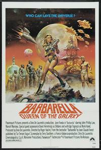 Barbarella - 43 x 62 Movie Poster - Bus Shelter Style B