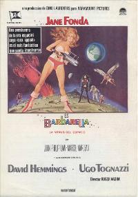 Barbarella - 11 x 17 Movie Poster - Spanish Style A