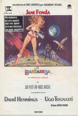 Barbarella - 27 x 40 Movie Poster - Spanish Style A