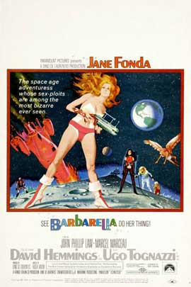 Barbarella - 11 x 17 Movie Poster - Style G