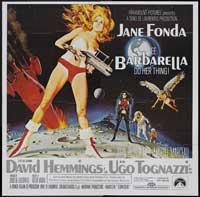 Barbarella - 30 x 30 Movie Poster - Style A