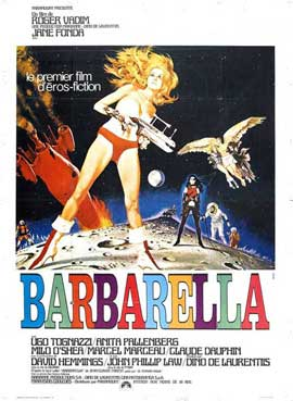 Barbarella - 27 x 40 Movie Poster - French Style A