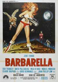 Barbarella - 11 x 17 Movie Poster - Italian Style B