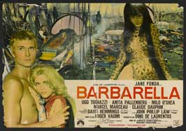 Barbarella - 27 x 40 Movie Poster - Italian Style B