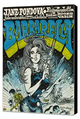 Barbarella - 11 x 17 Movie Poster - Polish Style A - Museum Wrapped Canvas