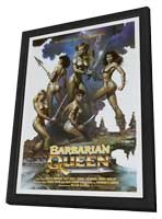 Barbarian Queen - 27 x 40 Movie Poster - Style A - in Deluxe Wood Frame