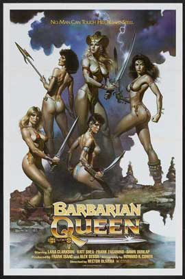 Barbarian Queen - 11 x 17 Movie Poster - Style A