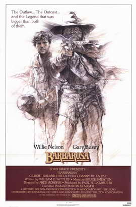 Barbarosa - 11 x 17 Movie Poster - Style A