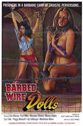 Barbed Wire Dolls - 11 x 17 Movie Poster - Style A