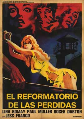 Barbed Wire Dolls - 11 x 17 Movie Poster - Spanish Style A