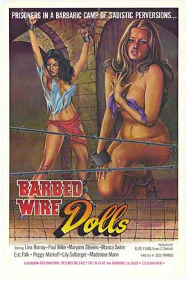 Barbed Wire Dolls - 27 x 40 Movie Poster - Style A