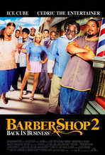 Barbershop 2: Back in Business - 27 x 40 Movie Poster - Style A