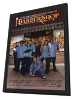 Barbershop - 27 x 40 Movie Poster - Style A - in Deluxe Wood Frame