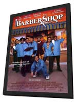 Barbershop - 11 x 17 Movie Poster - Style C - in Deluxe Wood Frame