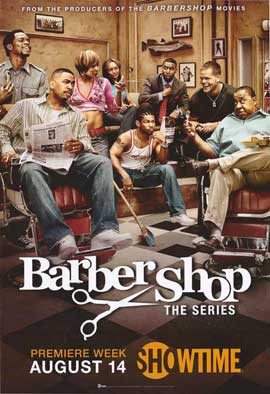 Barbershop The Series - 27 x 40 TV Poster - Style A