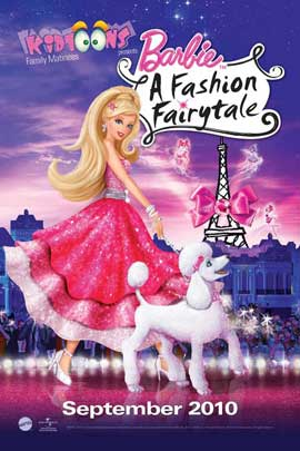 Barbie: A Fashion Fairytale - 11 x 17 Movie Poster - Style B