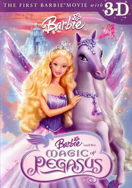 Barbie and the Magic of Pegasus 3-D - 27 x 40 Movie Poster - Style A