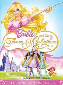 Barbie and the Three Musketeers - 11 x 17 Movie Poster - Style A
