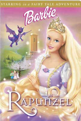 Barbie as Rapunzel - 11 x 17 Movie Poster - Style A