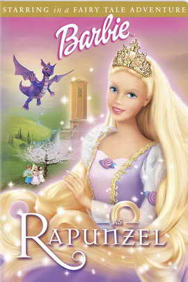 Barbie as Rapunzel - 27 x 40 Movie Poster - Style A