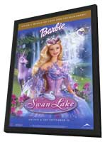 Barbie of Swan Lake - 11 x 17 Movie Poster - Style A - in Deluxe Wood Frame