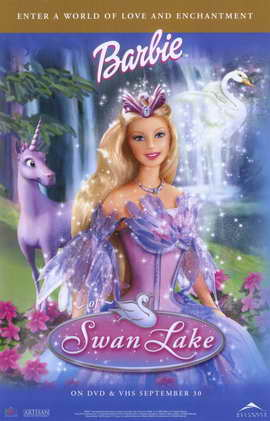 Barbie of Swan Lake - 11 x 17 Movie Poster - Style A