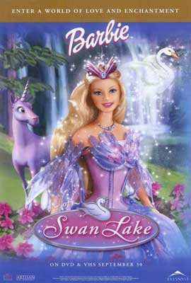 Barbie of Swan Lake - 27 x 40 Movie Poster - Style A