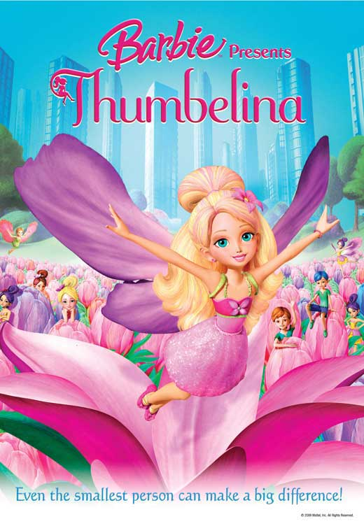 Barbie Presents: Thumbelina Movie Posters From Movie ...