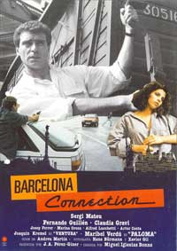 Barcelona Connection - 11 x 17 Movie Poster - Spanish Style B