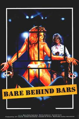 Bare Behind Bars - 27 x 40 Movie Poster - Style A