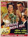 The Barefoot Contessa - 27 x 40 Movie Poster - Belgian Style B