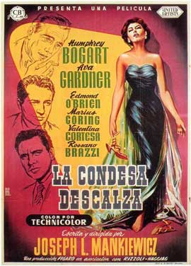 The Barefoot Contessa - 27 x 40 Movie Poster - Spanish Style A
