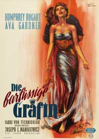 The Barefoot Contessa - 27 x 40 Movie Poster - German Style A