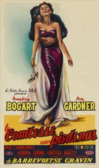 The Barefoot Contessa - 27 x 40 Movie Poster - Belgian Style A