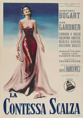 The Barefoot Contessa - 11 x 17 Movie Poster - Italian Style A